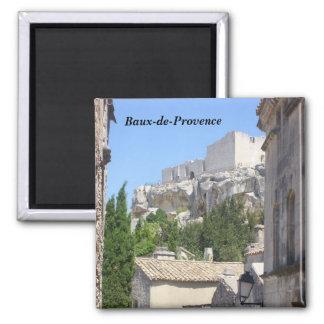 Baux-de-Provence - Magnet Carré