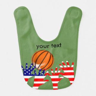 Bavoir Basket-ball Etats-Unis
