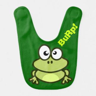 Bavoir de bébé de grenouille
