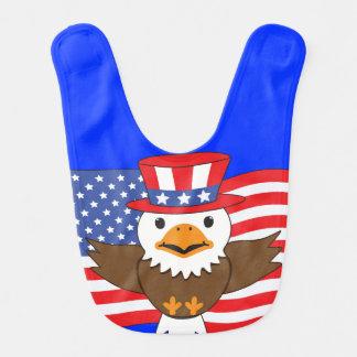 Bavoir Eagle chauve américain
