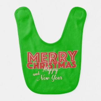 Bavoir Joyeux Noël et bonne année