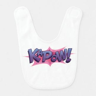 Bavoir KaPow comique !