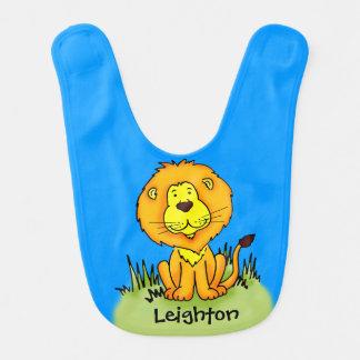 Bavoir L'industrie graphique de lion mignon ajoutent