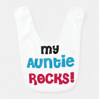 Bavoir Ma tante Rocks Bib
