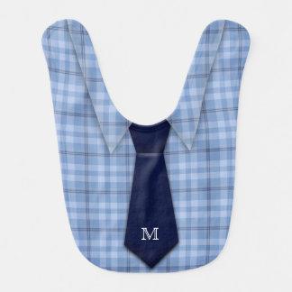 Bavoir Mignon drôle de cravate de la chemise de garçon
