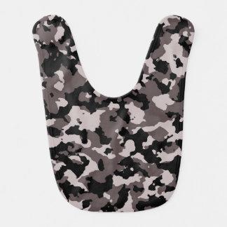 Bavoir Motif militaire de camouflage de Brown