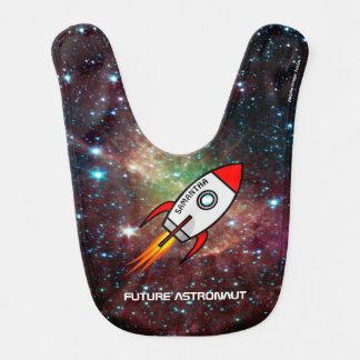 Bavoir Nom de Rocket et astronomie faits sur commande des