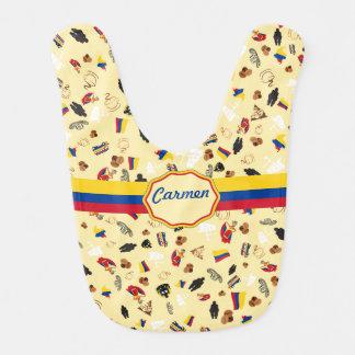 Bavoir Pour quoi est-elle la Colombie célèbre ?