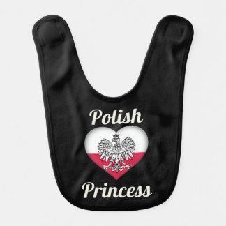 Bavoir Princesse polonaise Baby Bib