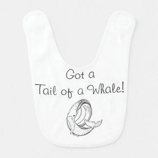 Bavoir Queue d'une baleine