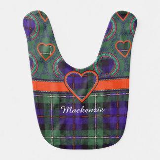 Bavoir Tartan d'écossais de plaid de clan du Mackenzie