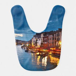 Bavoir Venice_Italy_Canal_bib