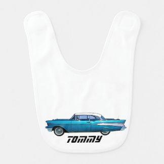 Bavoir Voiture classique Chevy 1957 BelAire