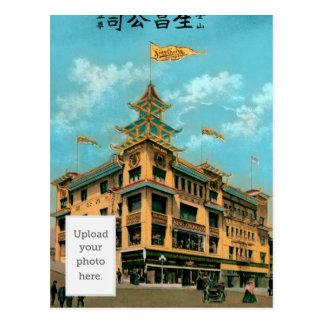 Bazar chinois carte postale