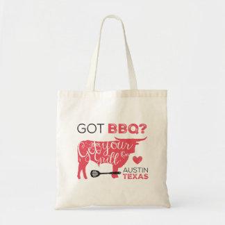 BBQ obtenu ? Obtenez votre gril sur Fourre-tout Tote Bag