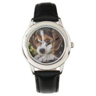Beagle de chiot montres bracelet