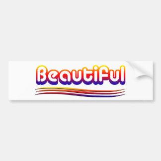 Beau (BumperSticker) Autocollant De Voiture