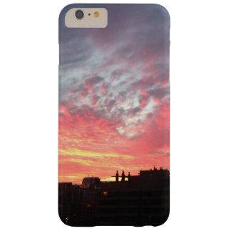 Beau cas de coucher du soleil coque barely there iPhone 6 plus
