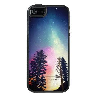 Beau ciel nocturne brillant jusqu'aux cieux coque OtterBox iPhone 5, 5s et SE
