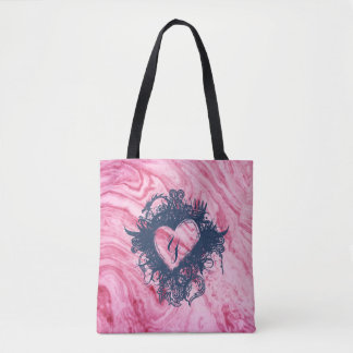 beau élégant de motif de marbre rose de texture sac