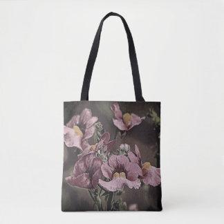 Beau fourre-tout floral sac