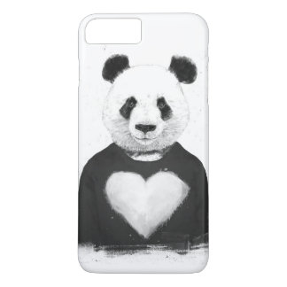 Beau panda coque iPhone 7 plus