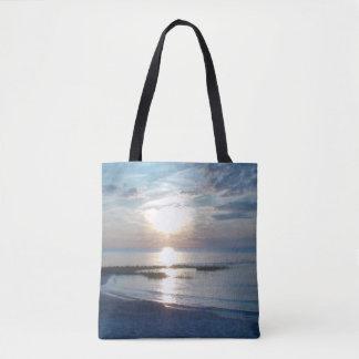 Beau sac de plage de Fourre-tout de photo de