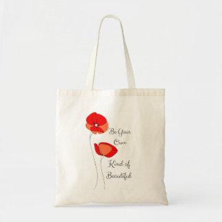 Beau sac fourre-tout floral