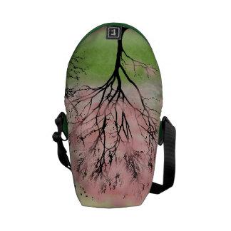 Beau sac messenger à arbre sacoche
