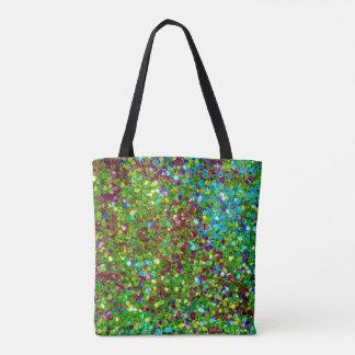 Beau scintillement coloré sac