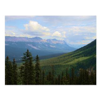Beauté de vallée d'arc cartes postales