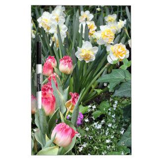 Beauté florale tableau effaçable à sec