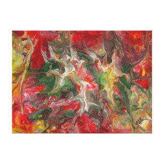 Beaux-arts contemporains modernes de peinture toiles