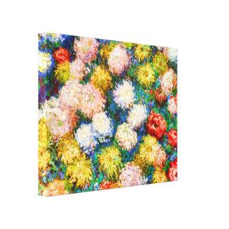 Beaux-arts de Claude Monet de chrysanthèmes Toiles