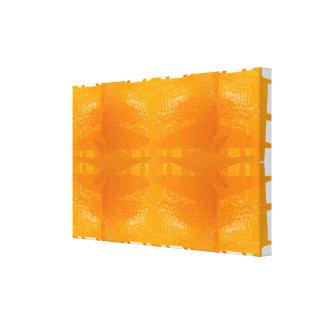 Beaux-arts oranges d'esthétique d'esprit de peau toile
