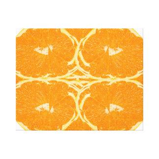 Beaux-arts oranges épluchés d'esthétique d'esprit toile