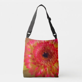 Beaux Gerberas fleur, sac fourre-tout