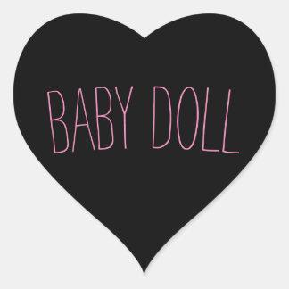 Bébé - autocollant de poupée