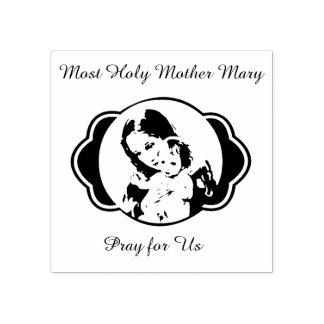 Bébé béni Jésus de Mary de mère