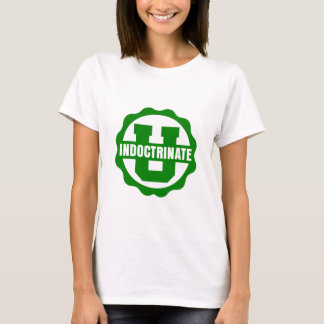 Bébé blanc de dames - T-shirt simple de logo de