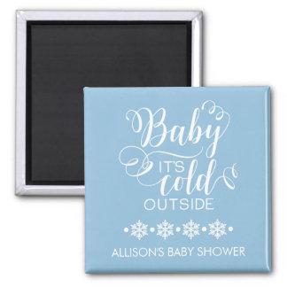 Bébé bleu c'est aimant froid de faveur de douche
