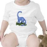 Bébé bleu d'Apatosaurus Bodies Pour Bébé