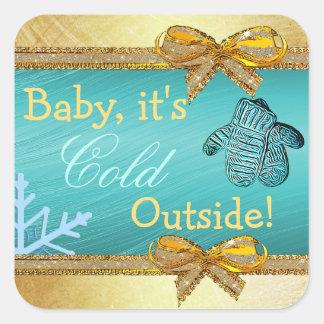 Bébé, c'est autocollant extérieur froid de