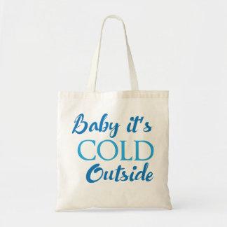 Bébé c'est extérieur froid tote bag