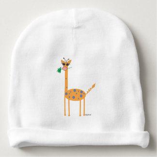 Bébé de nervure de coton/casquette infantile bonnet pour bébé
