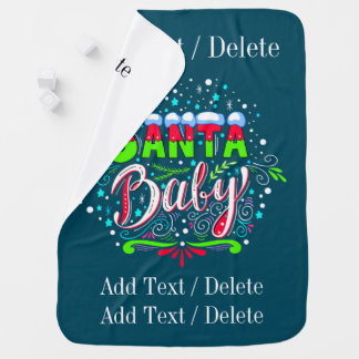 Bébé de Père Noël - couverture de bébé (voyez de