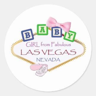 Bébé des autocollants de Las Vegas