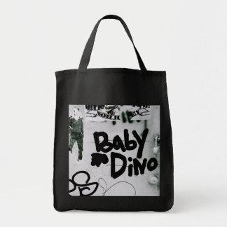 Bébé Dino Sac En Toile Épicerie