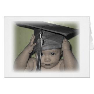 bébé d'obtention du diplôme ! carte de vœux