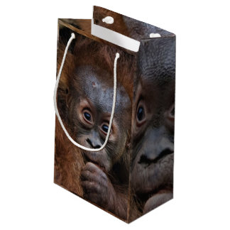 Bébé doux d'Orang Petit Sac Cadeau
